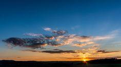 https://flic.kr/p/ggMYpB | Wolkenatlas | Sonnenuntergang im Harz, in der Nähe von Quedlinburg