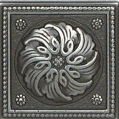 """Metal Ages Polished Pewter Celtic Deco 2"""" x 2"""""""