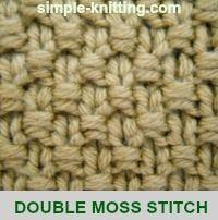 Double Moss Stitc