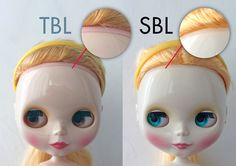 Scalp line comparison | The TBL (taobao girl) has a wider sc… | Flickr - Photo Sharing!