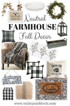 Neutral Farmhouse Fa