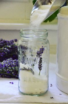 How to make lavender sugar | Maureen Abood