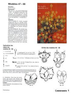 snowflakes crochet 240 schema 1