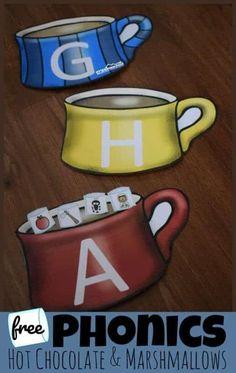 Hot Chocolate Beginning Sounds Match Game