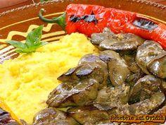ficatei cu usturoi si mamaliga Romanian Food, Jamie Oliver, Ethnic Recipes