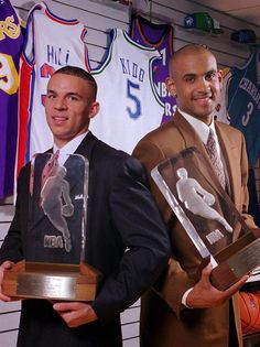 '95 Co-Rookies Of The Year.