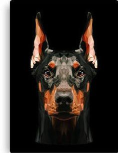 doberman art Visual Artwork