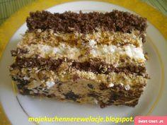 Ciasto cappuccino - Swiatciast.pl My Favorite Food, Favorite Recipes, Breakfast Menu, Polish Recipes, Mojito, Sweet Recipes, Banana Bread, Sweet Tooth, Deserts