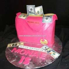 Michael Kors themed birthday cake.   Wedding Cakes ...
