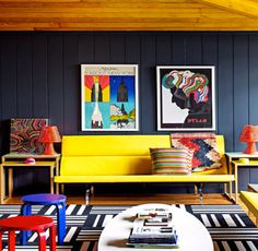 Getting some pop art-inspired interior design tips.