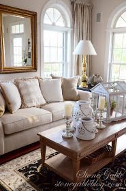 StoneGable: LIVING ROOM CURTAINS