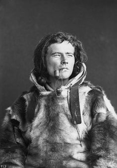 Sami man Josef Henriksen Buljo, 24 years old, Norway.