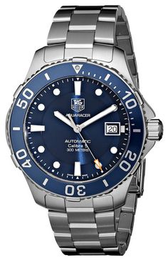 Tag Heuer Aquaracer- Stainless Steel with Deep Blue Dial- Click the Pic for Details