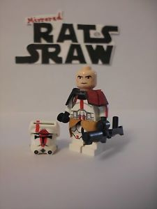 Lego Star Wars minifigures - Clone Custom Commander Deviss
