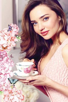 Miranda Kerr designs a line of chin inspired by nature.