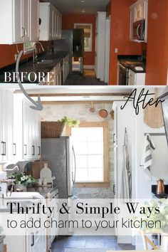 Thrifty and Simple Ways to add charm to your kitchen