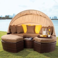 Brookstone Oasis Lounger (for my dream home)