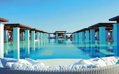 amazing swimming pools: amirandes grecotel exclusive resort, greece