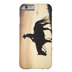 Silhouette of a Cowgirl on her horse against the iPhone 6 Case http://www.zazzle.com/silhouette_of_a_cowgirl_on_her_horse_against_the_case-256697482384886282?rf=238312613581490875