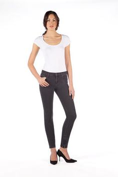 yoga jeans high rise skinny w/ zip chicago - Google Search