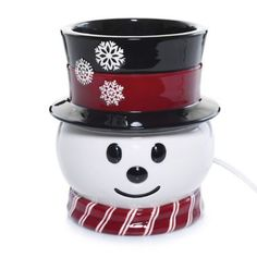 Yankee Candle® Snowman Scenterpiece™ Base - BedBathandBeyond.com