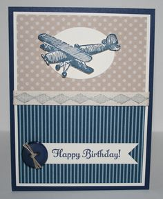 Stampin Up Plane & Simple