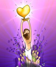 Jesús death gave us vicrory! Catholic Kids, Kids Church, Jesus Has Risen, Jesus Cartoon, Jesus Artwork, Catholic Religion, Bible Stories, Illustrations And Posters, Amor