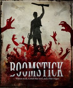 """cvasquez: """" The Boomstick Association """" Best Horror Movies, Scary Movies, Good Movies, Greatest Movies, Bruce Campbell Evil Dead, Ash Evil Dead, Movie Poster Art, Horror Art, Creepy"""