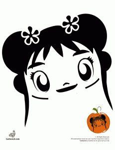 Ni Hao, Kai Lan Pumpkin Carving Patterns