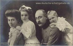 Prince Max of Baden (German Chancellor) and his family