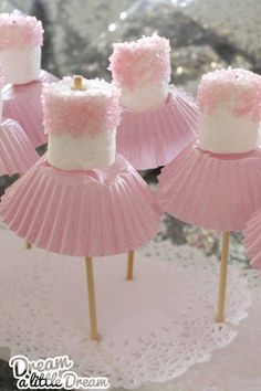 Marshmallow Ballerinas For my Lavenders :)