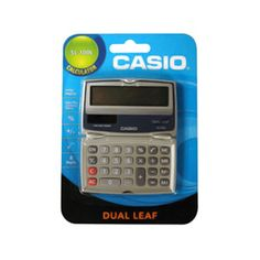 Casio Basic Folding Case Calculator, SL- 100L - 1 ea |  Solar plus power with battery backup. myotcstore.com - Ezy Shopping, Low Prices & Fast Shipping.