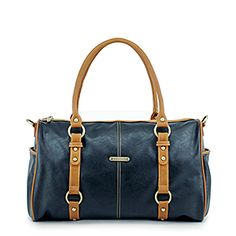 Timi & Leslie Madison Black/Saddle Diaper Bag #timilesliediaperbag