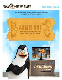 23 best penguins of madagascar movie night images family movie