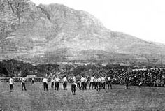 Rugby Football History 1891 British Isles versus Cape Colony match, the first match of the British Isles tour .