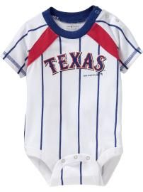 Texas Rangers at Old Navy $14.95...  When we decide to have children, my little boy or girl will definitely have one of these :)