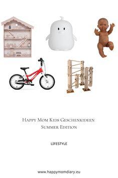 Ihr sucht noch ein Geburtstagsgeschenk für eure Kleinen, für die Enkel oder einfach für Kinder der Freunde und habt einfach keine Idee was ihr kaufen sollt? In meinem Beitrag habe ich ein paar Geschenkideen für die Kleinen zusammengetragen. #geschenkideen #kindergeburtstag #inspiration #mamablog #geschenkinspo #3jährige #spielzeuginspiration #spielzeug Happy Mom, Snoopy, Lifestyle, Summer, Kids, Inspiration, Character, Cool Bicycles, Kids Bicycle