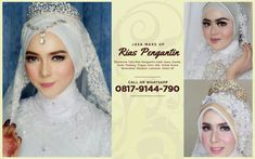 Tata Rias Pengantin Make Up Make Up Pengantin, Wedding Make Up, Wedding Ideas, Natural Makeup, Salons, Glamour, Poses, Bride, Modern