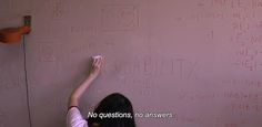 """― Mary Is Happy, Mary Is Happy (2013) """"No questions, no answers."""""""