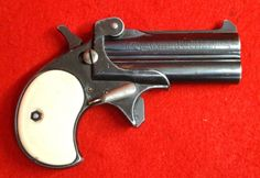 Exam model TA double barrel single action .38 caliber derringer