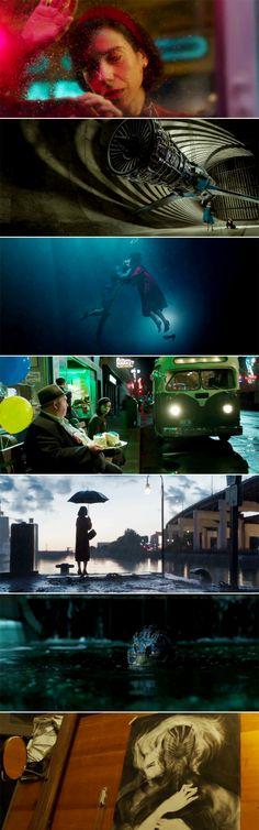 The Shape of Water (2017) dir. Guillermo Del Toro