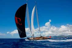 We can't wait to see @VittersShipyard built Marie's impressive black kite against Palma's bright blue sky next month!