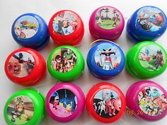 Disney Infinity Yo-Yo's Mini yo yo - birthday party favors - Personalize! 12ct