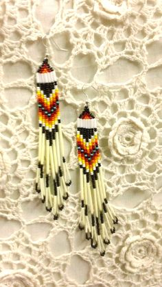 Native American Beaded Porcupine Quill by prettyuniquedesigns2, $10.00