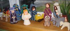 Crocheted Nativity Set