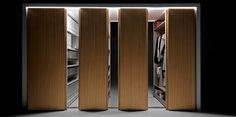 Sliding wardrobe / compactable filing cabinet BINARIA by Fantin   design Salvatore Indriolo