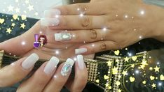 Manicures, Nails, Milena, Lewandowski, Beauty, Stones, Beleza, Ongles, Finger Nails