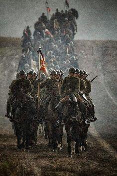 Military Art, Military History, Ww1 Soldiers, French Army, World War One, Dieselpunk, Warfare, Wwii, Poland
