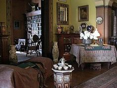 NOW AND THEN: Historic Hudson Valley House Olana and the Persian Look - Decor Arts Now Decor Arts Now