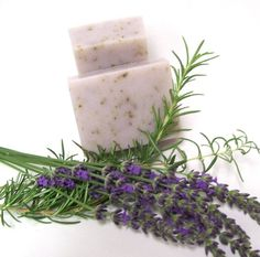 Organic Rosemary Lavender Bar Soap by naturelview on Etsy, $6.00
